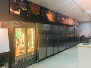 北京回收厨房设备,饭店不锈钢厨具,冰柜蒸饭箱